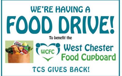 TCS Food Drive